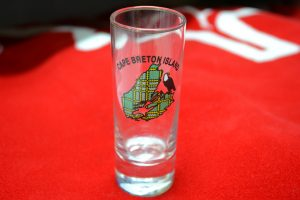 The Made In Nova Scotia Store: Shot Glasses (Cape Breton Tall)