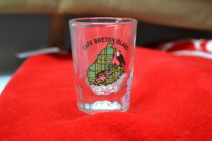 The Made In Nova Scotia Store: Shot Glasses (Cape Breton Round)