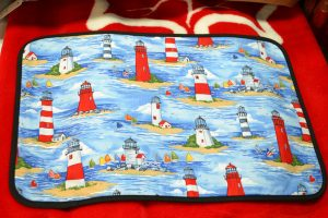 The Made In Nova Scotia Store: Place Mats - Lighthouse Print
