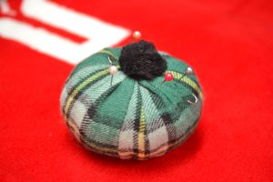The Made In Nova Scotia Store: Pin Cushion (Cape Breton Tartan)