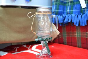 The Made in Nova Scotia Store: Red Neck Wine Glass (With Handle)