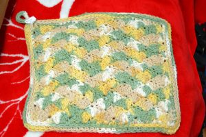 The Made In Nova Scotia Store: Dish Cloths - Yellow & Green