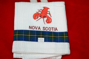 The Made In Nova Scotia Store: Tea Towels - Lobster