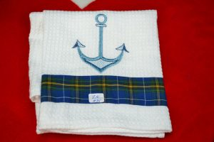 The Made In Nova Scotia Store: Tea Towels - Anchor
