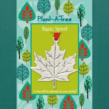 Made in NS Store: Maple Leaf Plant-A-Tree Ornament