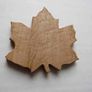 Birds Eye Maple Leaf Board