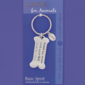 Dog Bone Key Chain