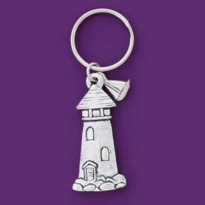Lighthouse Keychain