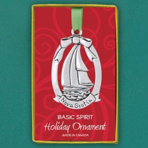 Schooner Ornament