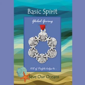 Sand Dollar Wreath Ornament