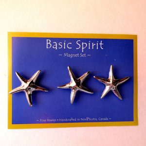 Pewter Magnet Set Starfish