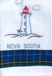 Nova Scotia Lighthouse Tea Towel