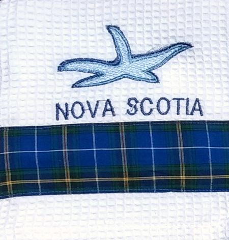 Nova Scotia Sailboat Tea Towel