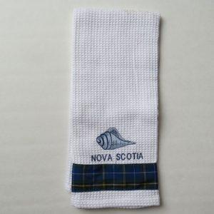 Seashell Tea Towel