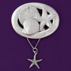 Seashells With Seastar Necklace
