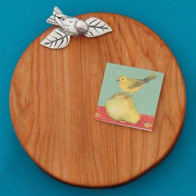 Bird Round Board