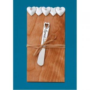 Hearts Pate Board W/Small Pate