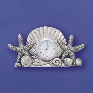 Shells Small Clock
