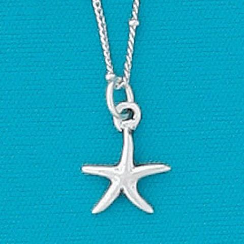 Tiny Sea Star Necklace