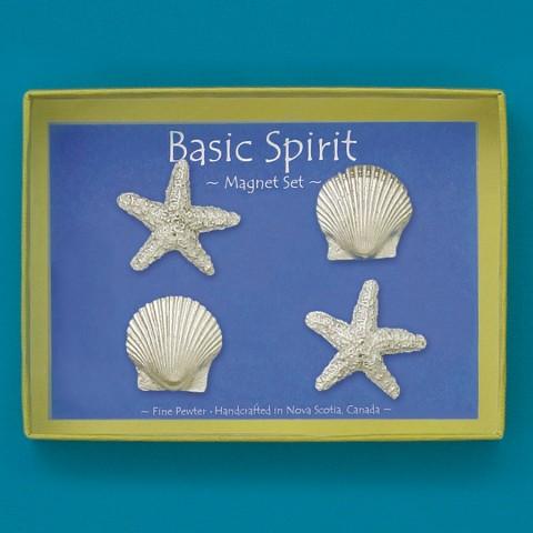 Shells (4pc) Magnet Set