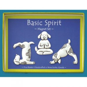 Yoga Dogs Magnet Set