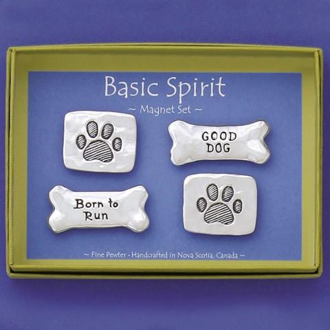 Paw Prints (4pc) Magnet Set