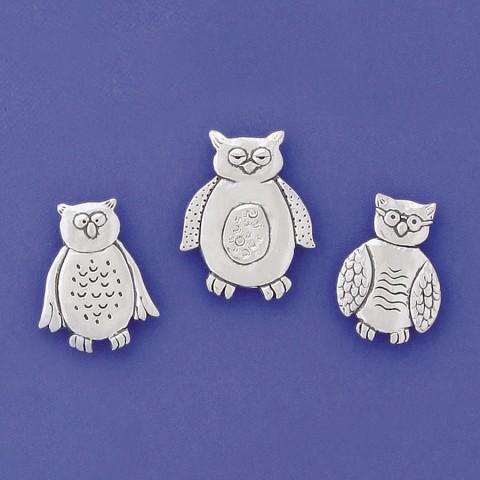 Owls Magnet Set