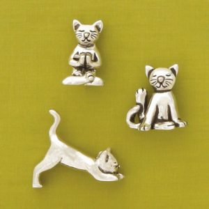 Yoga Cats Miniatures