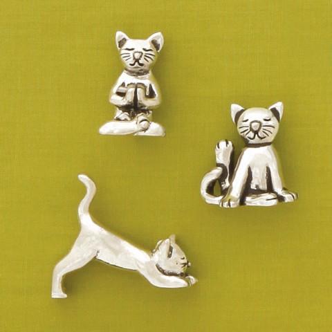 Yoga Cats Miniatures