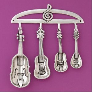 Instruments Measuring Spoons With Rack