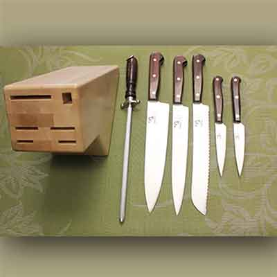 Full Tang set with Wine Xtra water-resistant handles