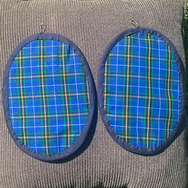 Nova Scotia Tartan Pot Holders